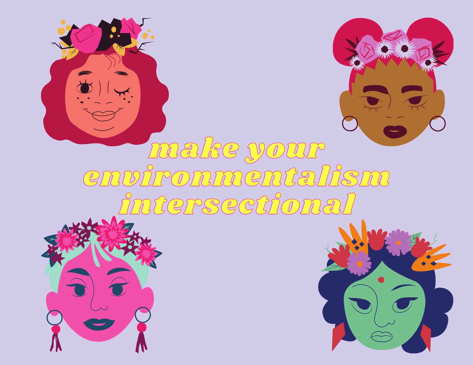 make your environmentalism intersectional
